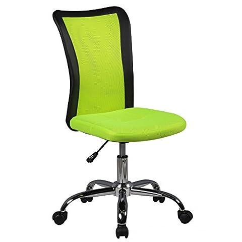 Amstyle Kinder-Schreibtischstuhl LUKAS für Kinder ab 6 mit Lehne Weichboden-Rollen Kinder-Drehstuhl Kinder-Bürostuhl ergonomisch höhenverstellbar Jugendstuhl für Mädchen Jungen Grün