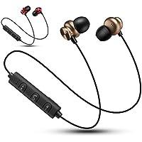 Auriculares Bluetooth inalámbricos biaurales estéreo Subwoofer Auriculares Bluetooth Auriculares Deportivos magnéticos ...