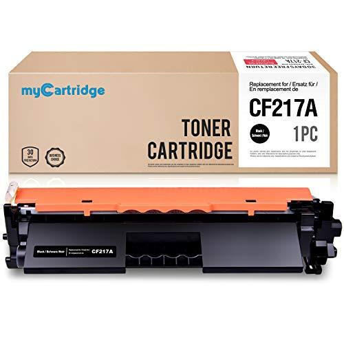 MyCartridge 217 Negro Cartucho de tóner Compatible HP CF217 17A para HP Laserjet Pro M102a M102w MFP M130a M130nw Impresora
