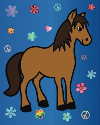 d846692ed2cb Horse Journal: Bullet Journal Cute Boho Rainbow BuJo Notebook, Best Friend  Gifts, for Girls,Tween Girls, Diary for Writing, Doodles, Horse Lovers, 8 x  ...