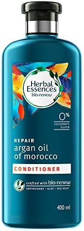 Herbal Essences Argan Oil of Morocco CONDITIONER- For Hair Repair and No Frizz- No Paraben, No Colorants, 400