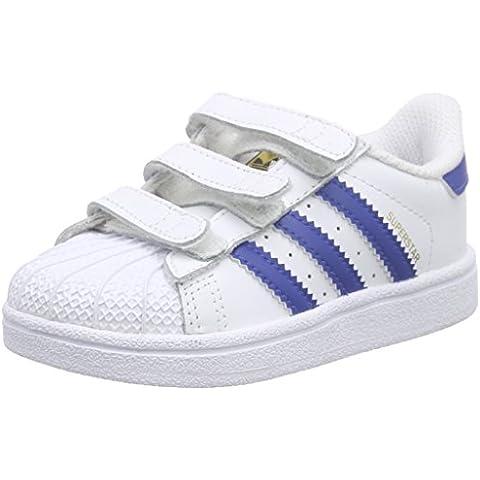 adidas Superstar Foundation Cf I, Zapatos de Primeros Pasos Bebé