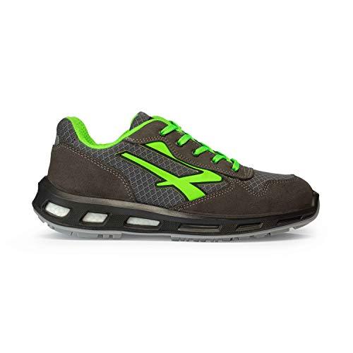U-power rl20036 - redlion mod.point s1p src - scarpe antinfortunistiche con suola infinergy, grigio scuro, 42 eu
