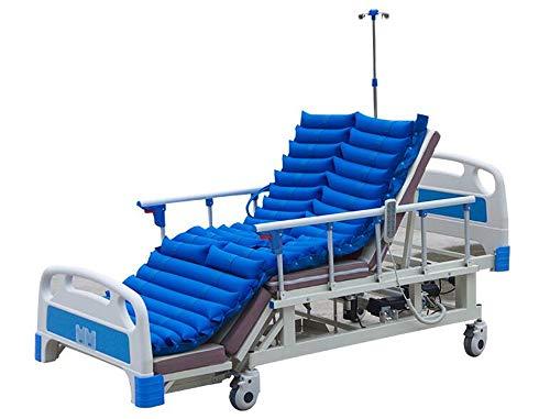 Topper Pad (ZJDU Premium-Luftwechselmatratze Für Medizinisches Bett | Dekubitus Und Dekubituslinderung |Beinhaltet Flüsterleise Pumpe Und Pad Topper | Passt Standardgröße Krankenhausbett)