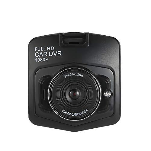 Autokamera Dashcam DVR-Dashboard-Kamera mit Full-HD-Auto-Kamera mit Super-Nachtsicht, 3-Zoll-Bildschirm, 170 ° Weitwinkel, Parkmonitor, G-Sensor, Bewegungserkennung zum Fahrer Reparaturwerk Handwerker