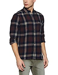 French Connection Mens Slim Fit Casual Shirt (52HKP/1_Rep/M/1783_M)