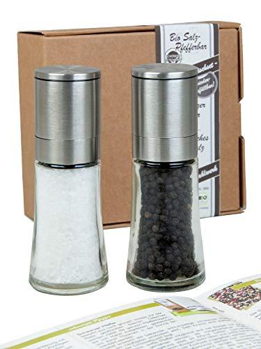 Geschenkset Salzmühle und Pfeffermühle im Geschenkkarton ()