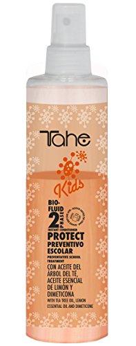 Tahe Acondicionador Niños con Árbol del Té Prevención Piojos/Acondicionador Infantil Kids Preventivo Escolar, 300 ml
