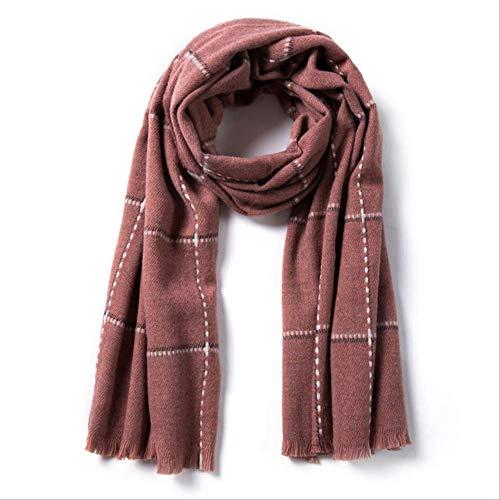 Wbdd Schal Frauen Schal Weichen Warmen Schal Winter Mode Cache Dick 200cmX70cm - 260G 04