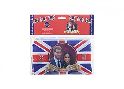 Royal Wedding Party Bunting Harry & Meghan Banner Flag Bunting Decoration Accessory 2018