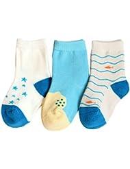 Fablcrew Chaussettes Bebe Chaussettes Mignonnes en Coton pour Bébé Chaussettes Unisexe