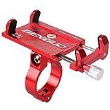 Uzinb Lega di Alluminio della Bicicletta del Telefono Porta Cellulare GPS Staffa della Bicicletta Supporto Regolabile Manubrio della Moto Smartphone