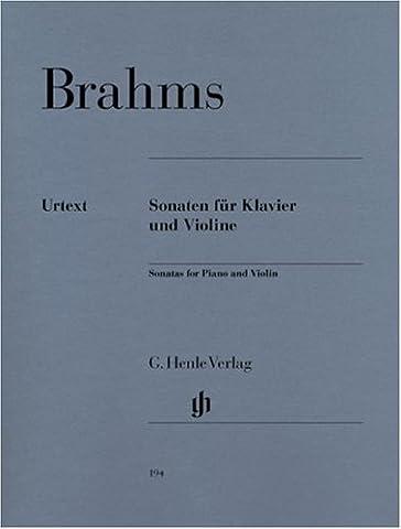 Sonatas for Piano and Violin - piano and violin - (HN 194)