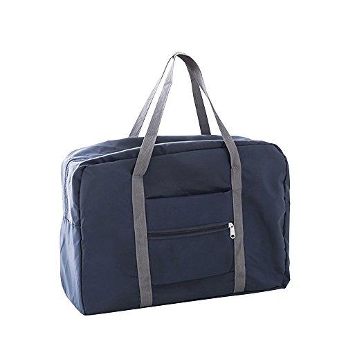 Festnight Reisetasche Große Kapazität Faltbare Handgepäck Nylon Reisen Seesäcke Unisex Weekend Taschen Multifunktionale Handtaschen Reisetaschen für Männer und Frauen