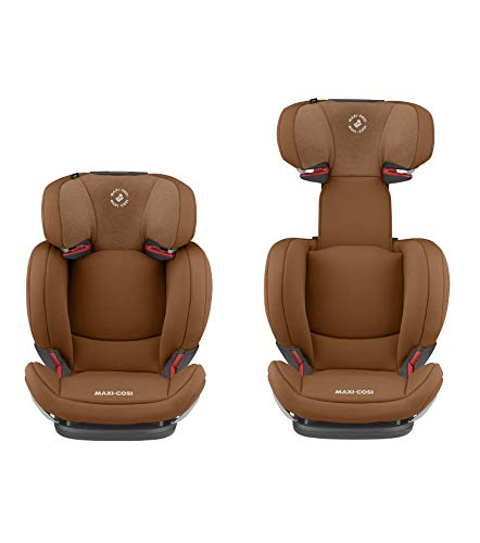 Maxi-Cosi RodiFix AirProtect Child Car Seat, Isofix Booster Seat, Cognac, 15-36 kg Maxi-Cosi Booster car seat for children from 15-36 kg (3.5 to 12 years) Grows along with your child thanks to the easy headrest and backrest adjustment from the top Patented air protect technology for extra protection of child's head 12