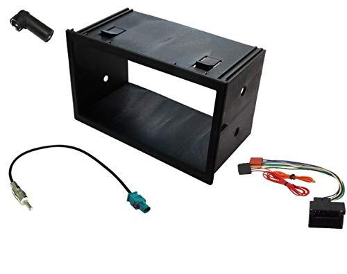ADNAuto 09114 Kit Adaptateur Autoradio 2DIN / 4/ 9N/ Fabia Quadlock et Iso et Fm Kitfac201