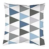 Die besten Pillowcase Home Fashion Kissen - Home Fashion 66341-106 blau 40x40 cm Kissenhülle Digitaldruck Bewertungen