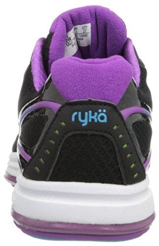 Ryka - Sandali con Zeppa donna Black/Dark Purple/Light Blue