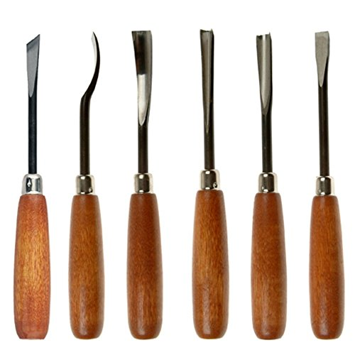 Wood Carving Hand Tool Set Of 6 -