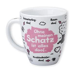 "Sheepworld 42622 Tasse ""Schatz"""