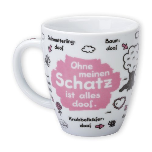 Sheepworld 42622 Tasse 'Schatz'