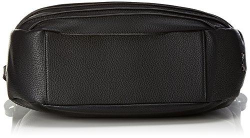 Sansibar Damen Pouch Henkeltasche, 16x40x40 cm Schwarz (Black)