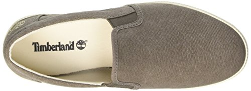 Timberland Newport Bay_newport Bay Canvas Plain, Low-Top Sneaker homme Marron - Brown (Bungee Cord Canvas)