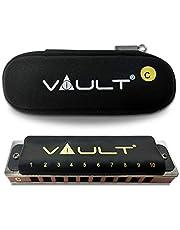 Vault HA1100 Key C 10-Hole Harmonica