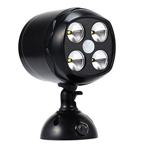 spotlight-eclairage-4led-spots-sans-fil-lampe-murale-applique-murale-projecteur-eclairage-exterieur-
