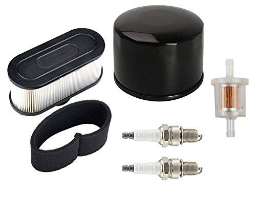 OxoxO Air Filter Pre Filter Oil Filter Fuel Filter 2pcs Spark Plug for  Kawasaki FR651V FR691V FR730V FS481V FS541V FS600V FS651V FS691V FS730V  4-Cycle