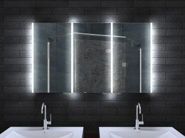 Alluminio mobile da bagno bagno spiegelschrank bad illuminazione a