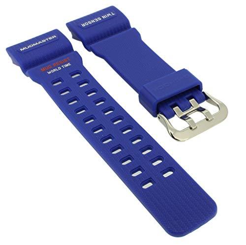 Casio G- Shock Mudmaster GG-1000TLC-1A - Correa de Repuesto para Reloj (Resina), Color Plateado y...