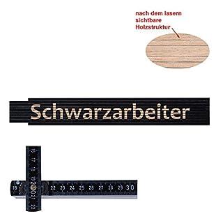 Zollstock/Meterstab Schwarzarbeiter
