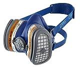 GVS Filter TECHNOLOGY SPR504 Elipse A1P3 Halbmaske mit wartungsfreien Standfiltern M/L blau