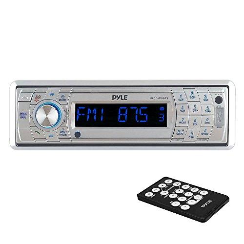 Pyle PLCD5MRBTS Autoradio CD-/DVD-Player, silberfarben