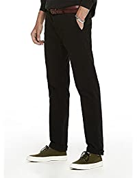 Scotch & Soda Herren Hose Blake-Stretch Baumwollepleated Trousers | Relaxed Slim Fit