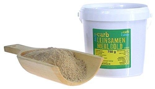 -Carb GOLD Leinsamenmehl (entölt) 750g