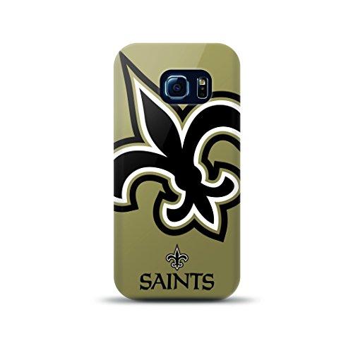 Mizco Sport Fall Samsung Galaxy S6Edge Lizenzprodukt TPU NFL New Orleans Saints Fall (Sport Mizco)