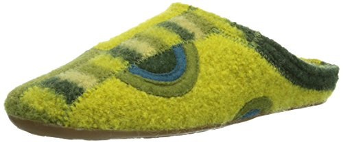 Haflinger Everest Tango, Pantofole Donna Verde (Vert - Grün (schilf / 40))