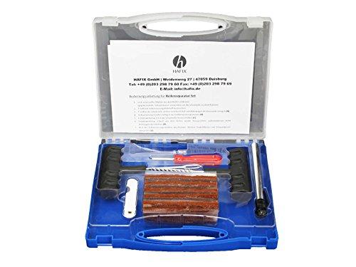HAFIX 35 TLG. Reifenreparatur Set Reifen-Reparatur-Set Reifenflickzeug PKW Motorrad Reifen Reparatur