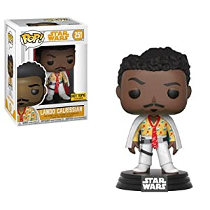 Funko Pop Lando Calrissian – Hot Topic (Star Wars 251) Funko Pop Han Solo: Una Película de Star Wars