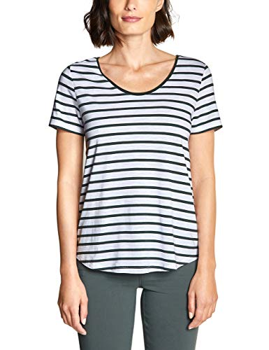 Street One Damen Gerda T-Shirt, Chilled Green, (Herstellergröße:46) -