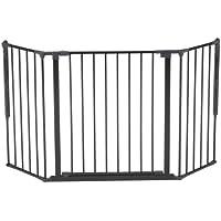 BorasTapeter Scandinavian Pet Diseño 56216–92600–10–85Flex M de perros barrera, color negro