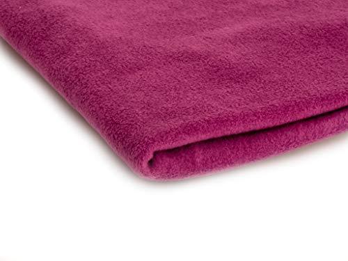 Polar Antipilling Fleece Stoffe 200 g / m² von allerbester Qualität erhältlich in 50 Farben 50 x 155 cm (Nr 22 Kaktusfeige)