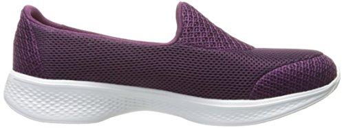 Skechers Damen Go Walk 4-Propel Sneakers Pink (ras)