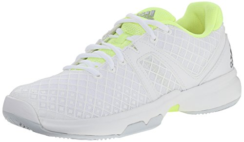 Adidas Performance Sonic Allegra Training Chaussures, Solar Red / argent / blanc, 5,5 M Us White/Silver/Frozen Yellow