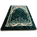 Super soft memory foam islam prayer mat GREEN