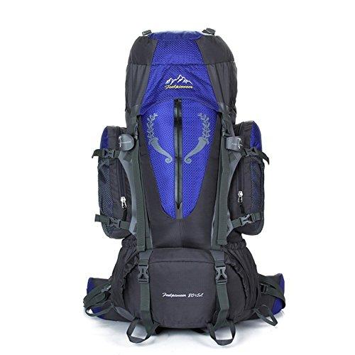 Sincere® Package / Sacs à dos / Portable / Ultraléger Grande capacité alpinisme sac à dos / sports de plein air / sacs / sac à dos de camping 80L bleu 90L