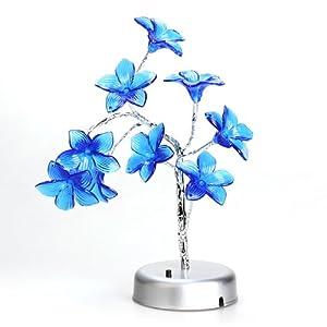 Vktech® Mini Flower Tree LED Light Lamp for Home Desk Festival Decoration from Vktech®