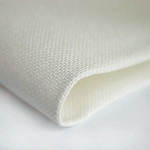 ZWEIGART 27 count Linda evenweave fabric shade - antique white 1/4